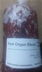 Pork Organ Blend - Single 2 lb Package