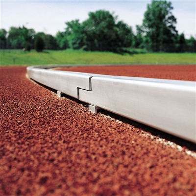 Track & Field Curbing in Mill Finish