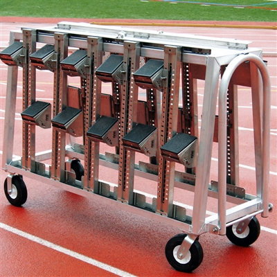 Aluminum Block Cart w/Lock