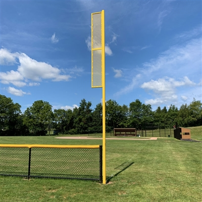 Baseball Foul Poles - Winged