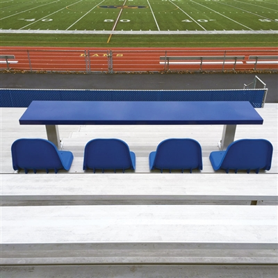 Bleacher Scorer's Table