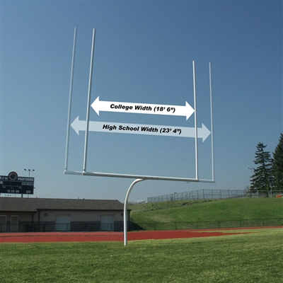 Expandable Offset Football Goal Post