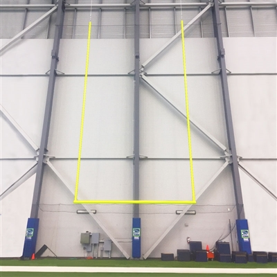 Suspended Football Goal Post