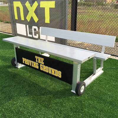 "Portable Unibody 7'-6"" Scorer's Table"