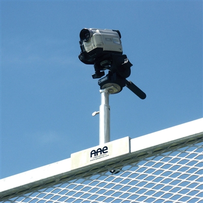 Video Camera Rail Mounted Unipod