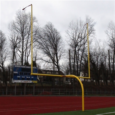 180 Rotational 8' Offset Football Goal Post