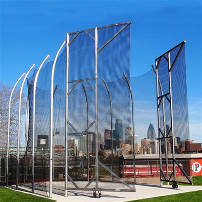 NCAA Recommended Height Hammer-Discus Cage