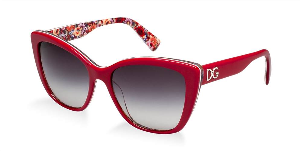 dolce gabbana 4216 sunglasses 27928g red