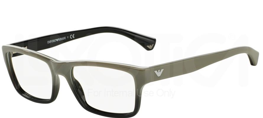 Armani Glasses Frames White : Emporio Armani EA 3050 Eyeglasses 5346 White