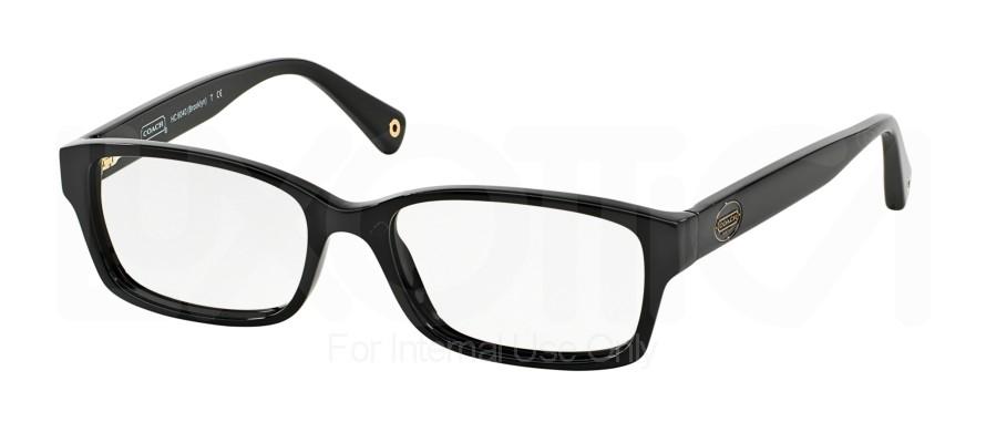 Coach Eyeglass Frames Hc6040 : Coach HC 6040 Brooklyn Eyeglasses 5002 Black