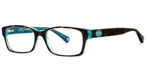 Coach Eyeglass Frames Repair : Coach HC 6040 Brooklyn Eyeglasses 5116 Havana