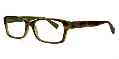 Coach 6040 Brooklyn Eyeglasses 5117 Havana