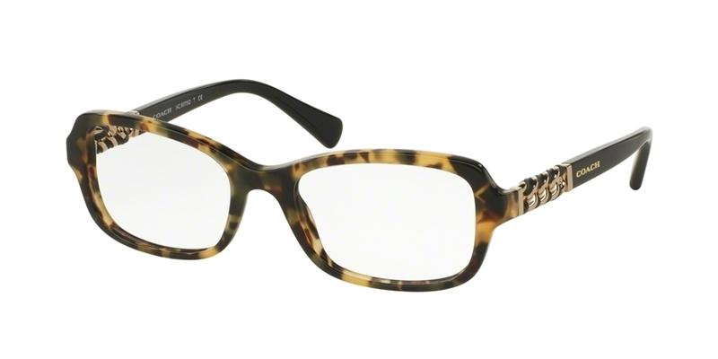 Coach Eyeglass Frames Repair : Coach 6075Q Eyeglasses 5324 Havana