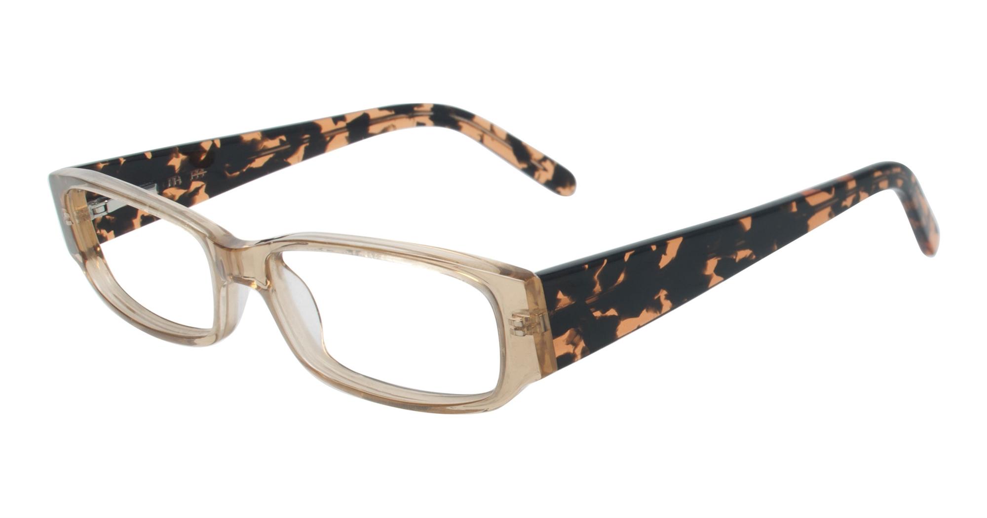 otis and piper op5004 eyeglasses 200 taupe demi