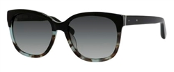 Bobbi Brown BBR The Gretta Sunglasses 0DU6 Black Blue Tortoise,