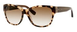 Bobbi Brown BBR The Veronika Sunglasses 0ESP Camel Tortoise,