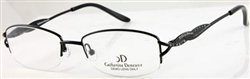 CATHERINE DENEUVE CD 0296 Eyeglasses P93 Satin Black