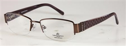CATHERINE DENEUVE CD 0315 Eyeglasses Q11 Satin Brown