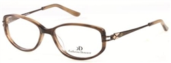CATHERINE DENEUVE CD 0357 Eyeglasses D96 Brown