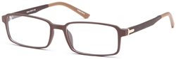 Designer Optics iconics Men's ADAM Plastic Eyeglasses