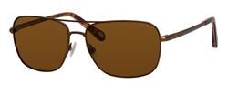 Fossil FO 2001 Sunglasses 1J0P Matte Brown,