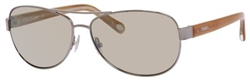 Fossil FO 2004 Sunglasses 06LB Ruthenium