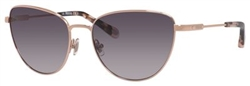 Fossil FO 2028 Sunglasses 0AU2 Rose Gold