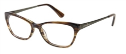 GUESS BY MARCIANO GM 0201 Eyeglasses D96 Brown
