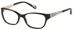 GUESS BY MARCIANO GM 0243 Eyeglasses B84 Black