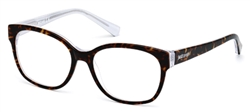 JUST CAVALLI JC 0519 Eyeglasses 056 Havana,