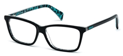 JUST CAVALLI JC 0616 Eyeglasses 005 Black,