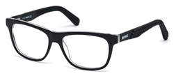 JUST CAVALLI JC 0643 Eyeglasses 001 Shiny Black,