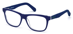 JUST CAVALLI JC 0643 Eyeglasses 090 Shiny Blue,