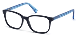 JUST CAVALLI JC 0685 Eyeglasses 090 Shiny Blue