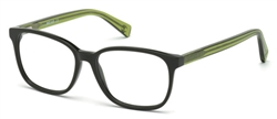 JUST CAVALLI JC 0685 Eyeglasses 096 Shiny Dark Green