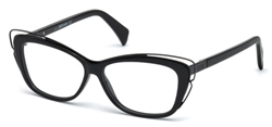 JUST CAVALLI JC 0704 Eyeglasses 001 Shiny Black