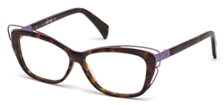 JUST CAVALLI JC 0704 Eyeglasses 053 Blonde Havana