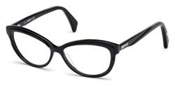 JUST CAVALLI JC 0748 Eyeglasses 001 Shiny Black