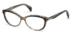 JUST CAVALLI JC 0748 Eyeglasses 047 Light Brown