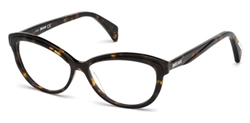 JUST CAVALLI JC 0748 Eyeglasses 052 Dark Havana