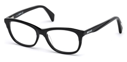 JUST CAVALLI JC 0749 Eyeglasses 001 Shiny Black