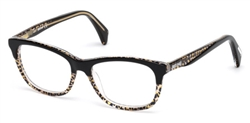 JUST CAVALLI JC 0749 Eyeglasses 047 Light Brown