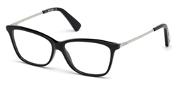 JUST CAVALLI JC 0754 Eyeglasses 001 Shiny Black