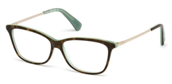 JUST CAVALLI JC 0754 Eyeglasses 056 Havana