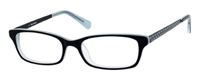 Juicy Couture JC 119 Eyeglasses 01S6 Black Blue,