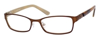 Juicy Couture JC 124 Eyeglasses 0DA3 Satin Brown,
