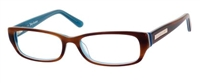 Juicy Couture JC 125 Eyeglasses 01PR Havana Blue,