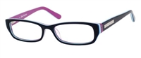 Juicy Couture JC 125 Eyeglasses 0W46 Black Multi Striped,
