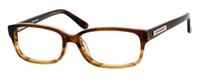 Juicy Couture JC 126 Eyeglasses 0ES2 Brown Tortoise,