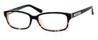 Juicy Couture JC 126 Eyeglasses 0JYY Black Tortoise Fade,